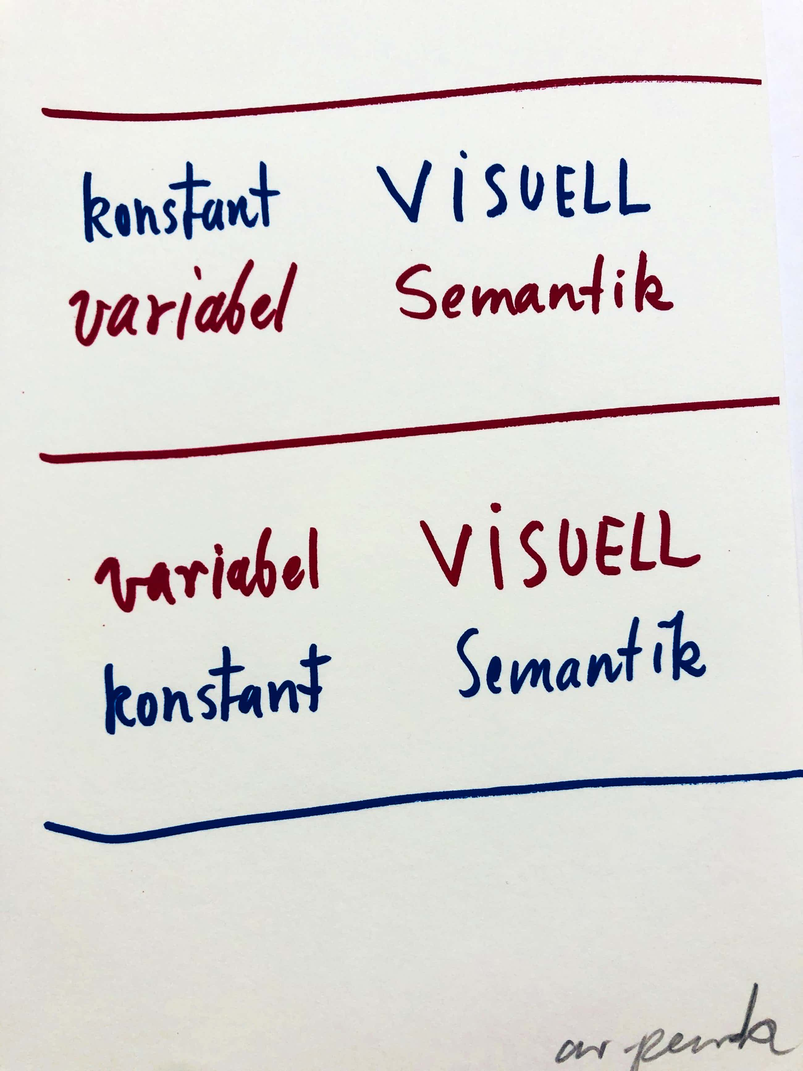 A.R. Penck - konstant variabel visuell semantik kopen? Bied vanaf 145!