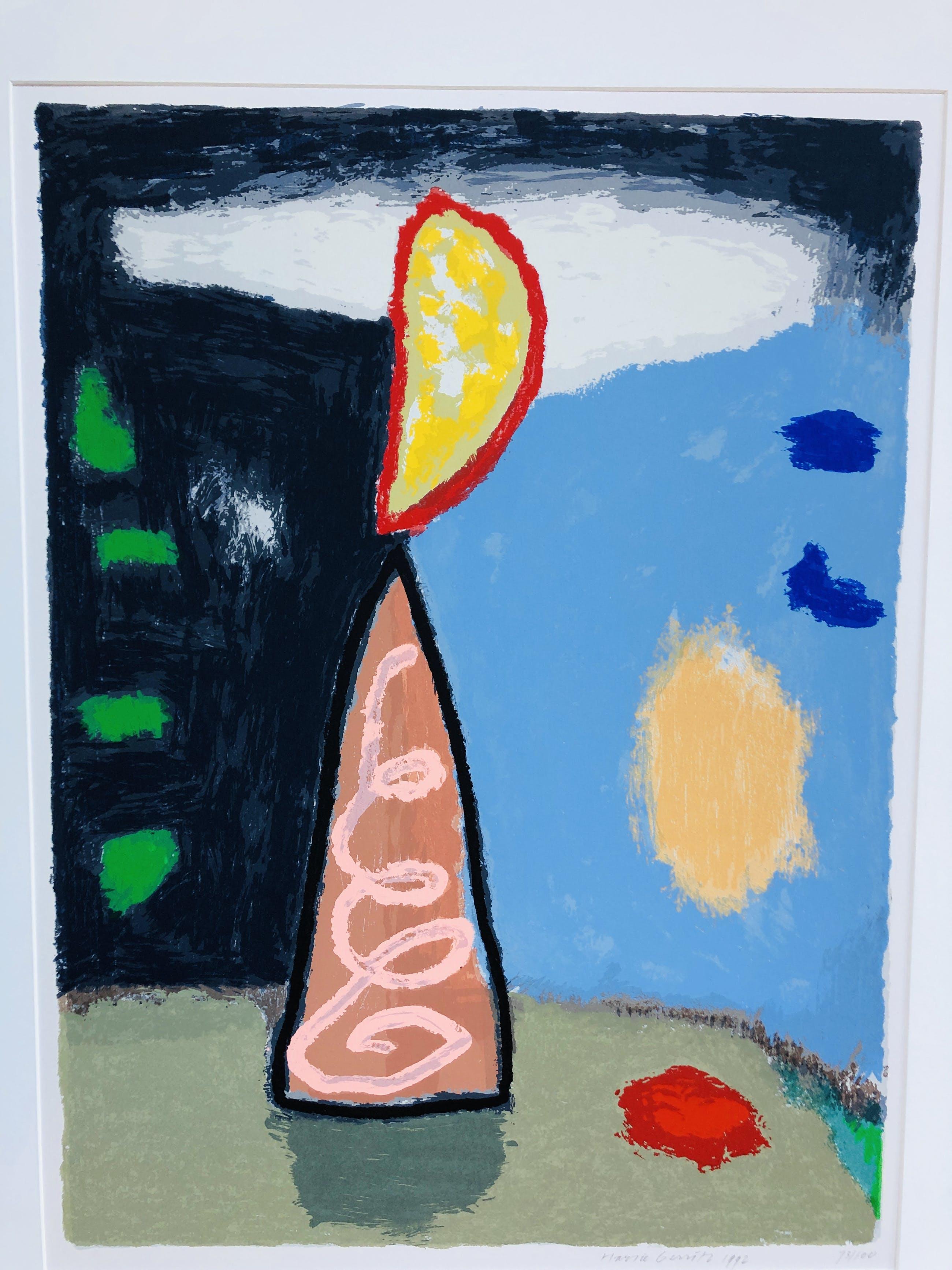 Harrie Gerritz - Compositie in landschap kopen? Bied vanaf 80!
