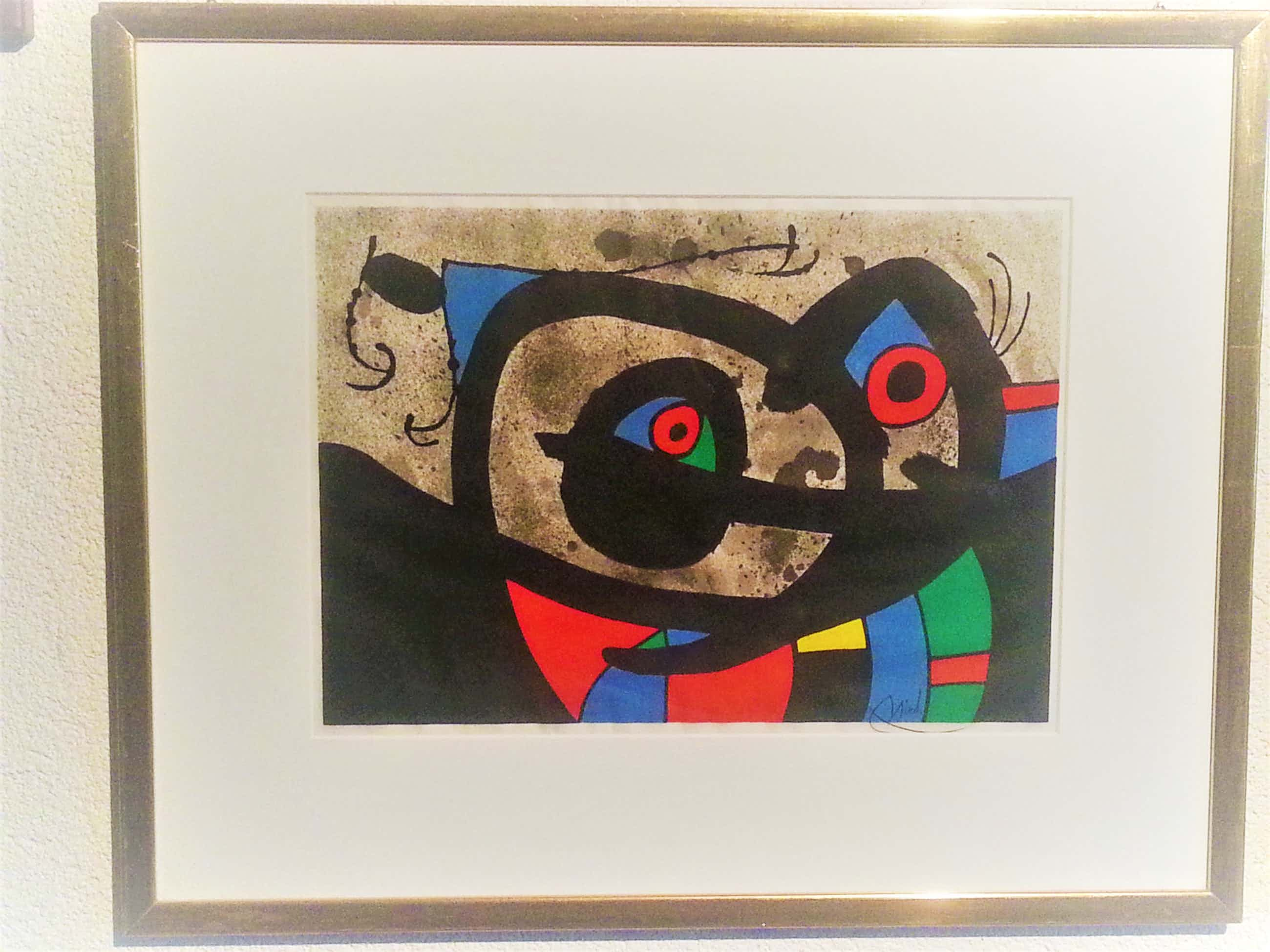 Joan Miro - Die Eidechse mit den Goldfedern kopen? Bied vanaf 11380!