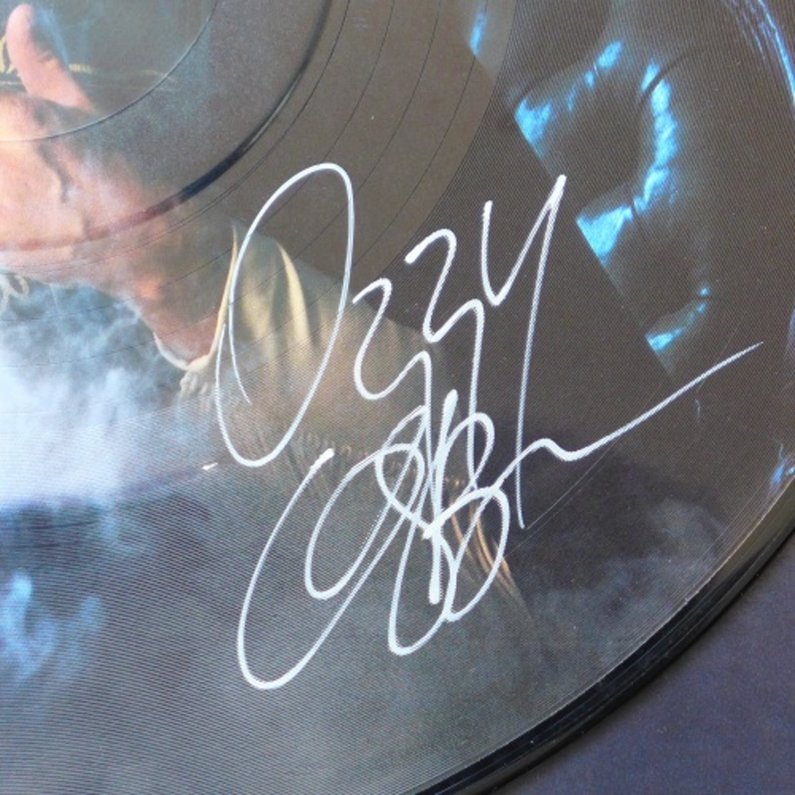 Ozzy Osbourne - Mr. Crowley Live, Picture Disc Maxi Single, signiert: Ozzy Osbourne kopen? Bied vanaf 49!