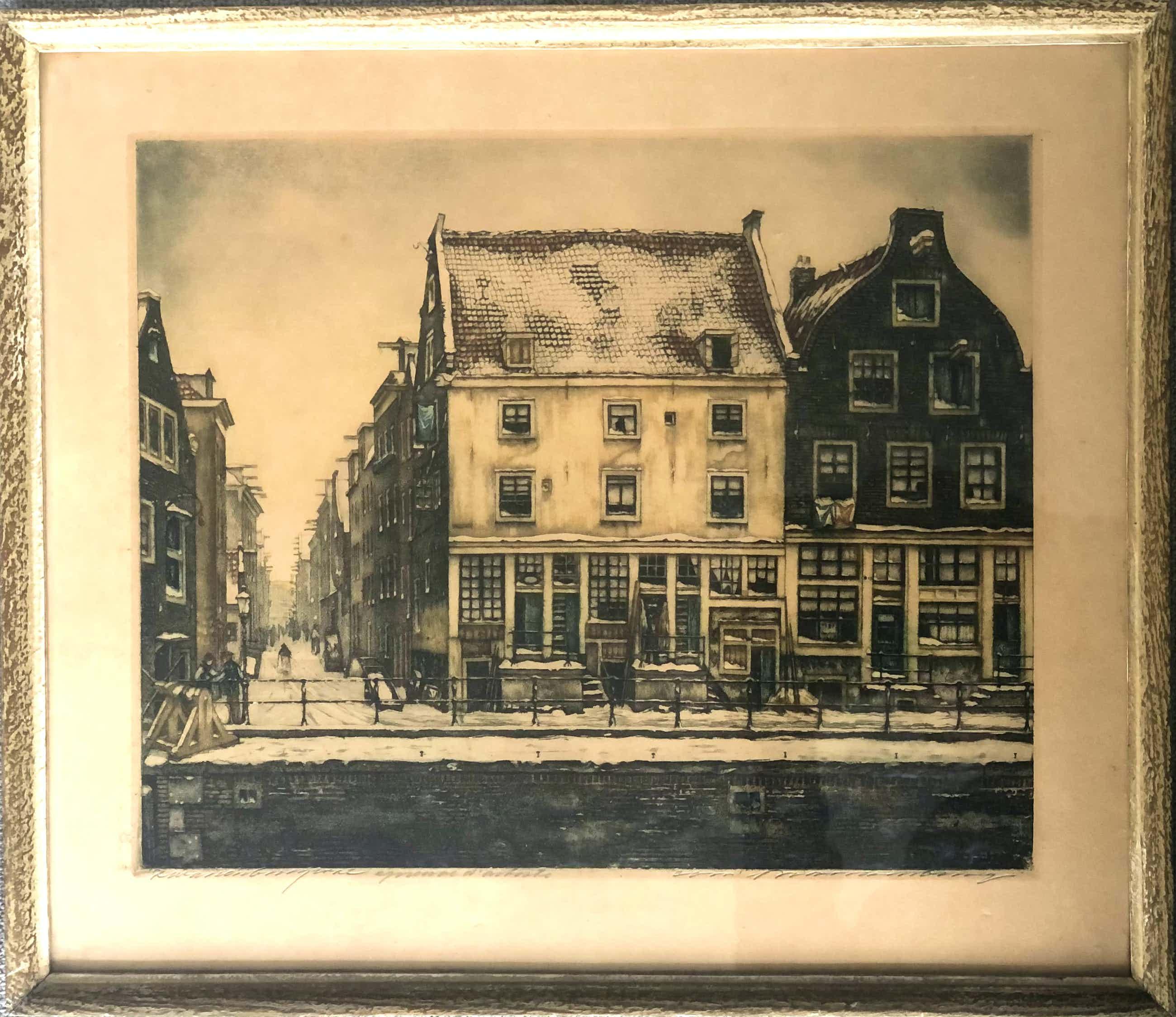 Cornelis Brandenburg - Zwanenburgwal kopen? Bied vanaf 44!