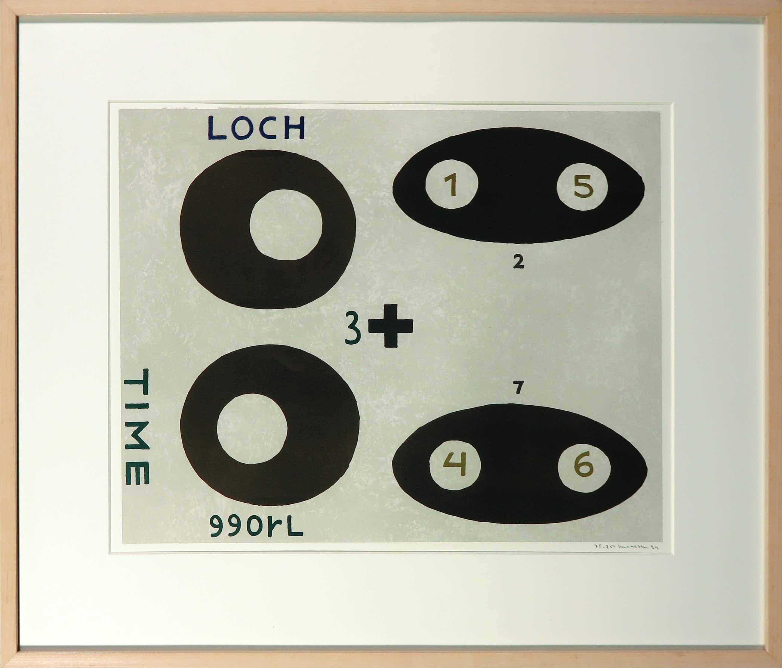 Reinier Lucassen - Litho, Time/Loch - Ingelijst kopen? Bied vanaf 100!