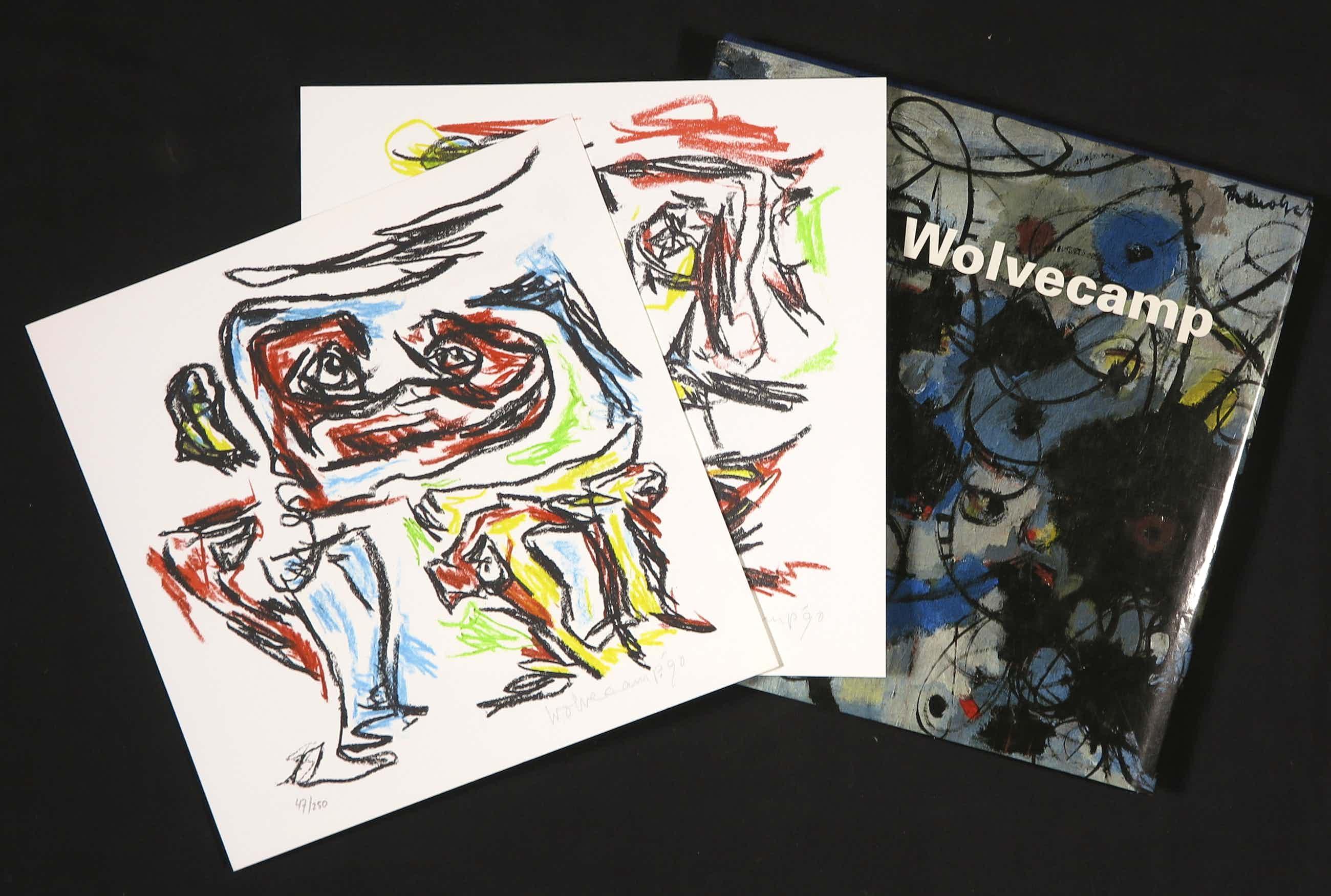 Theo Wolvecamp - Gesigneerde en genummerde monografie inclusief twee zeefdrukken kopen? Bied vanaf 240!