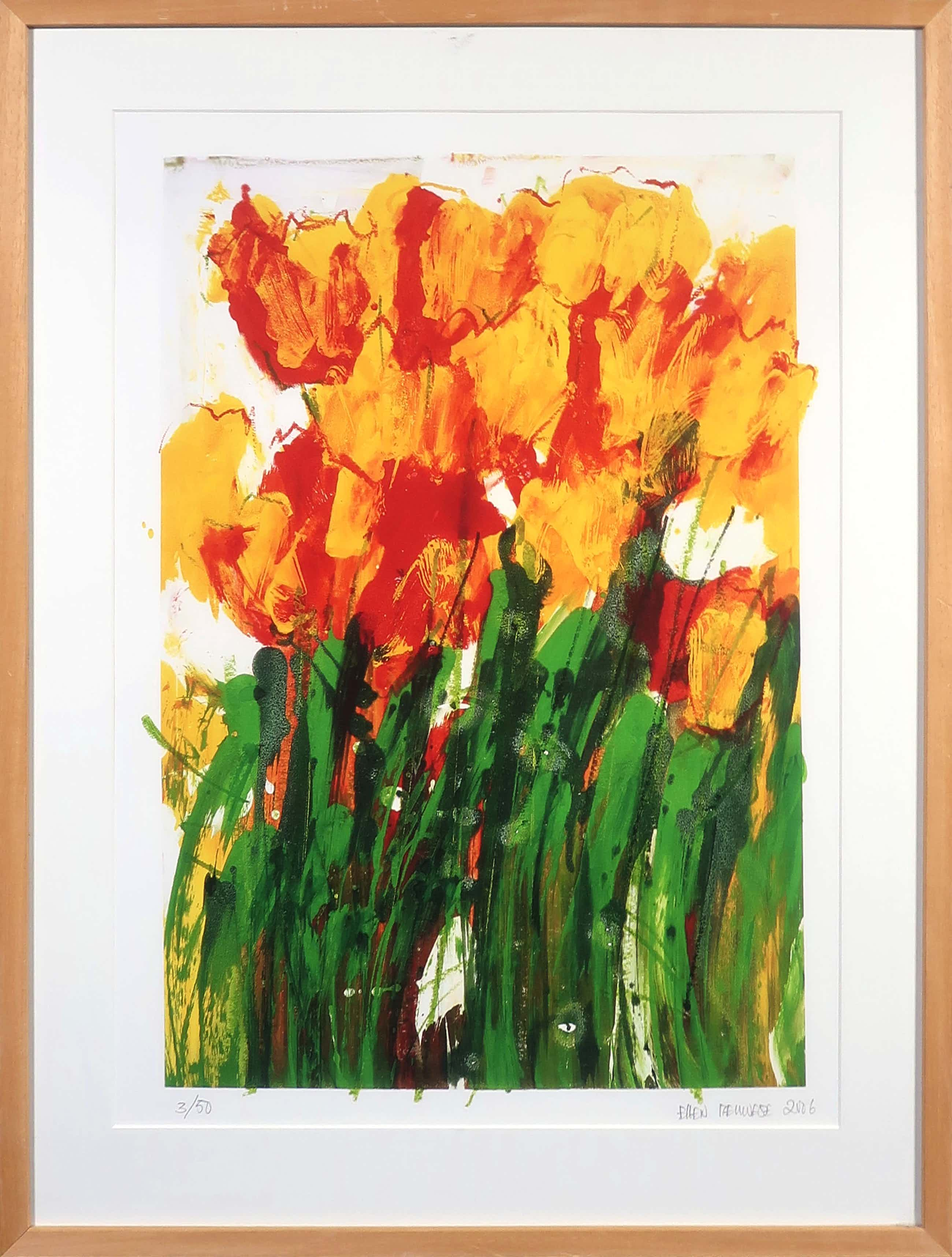 Ellen Meuwese - Giclée, Tulpen - Ingelijst kopen? Bied vanaf 65!