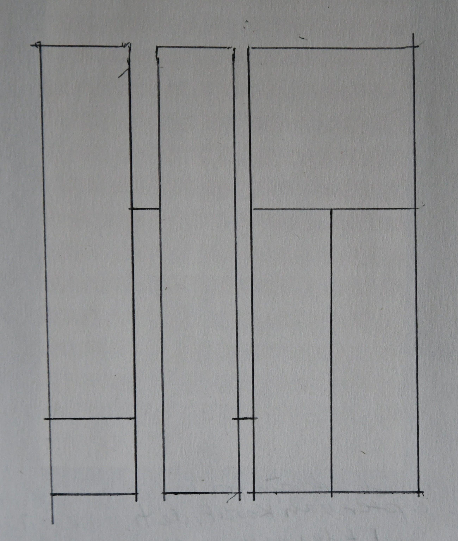 Siep van den Berg - # SET VAN TWEE CONSTRUCTIVISTISCHE TEKENINGEN/COLLAGE # 1980, zeer goed kopen? Bied vanaf 48!