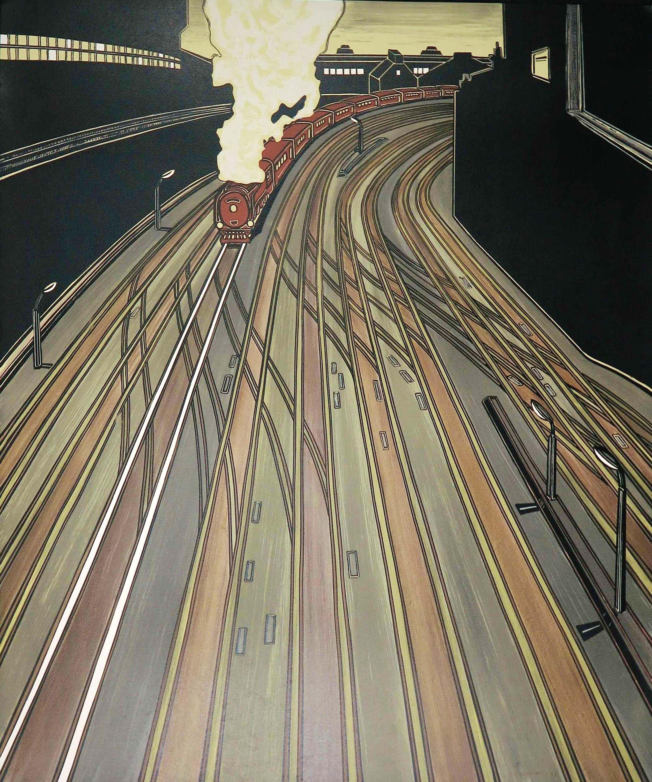 Bruno Vekemans - Litho, Le train kopen? Bied vanaf 100!