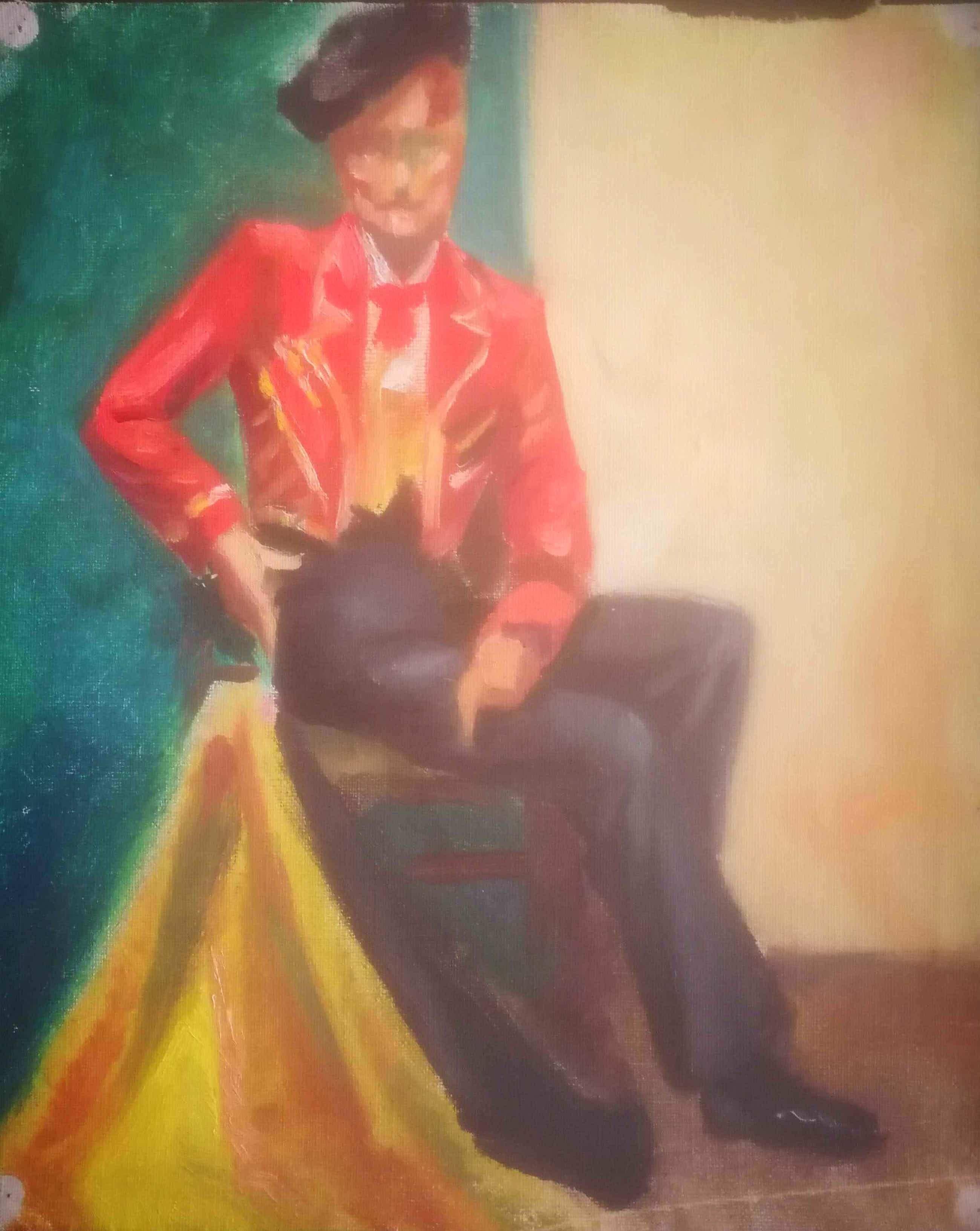 Marits Rietdijk - Toreador. Portret. kopen? Bied vanaf 139!