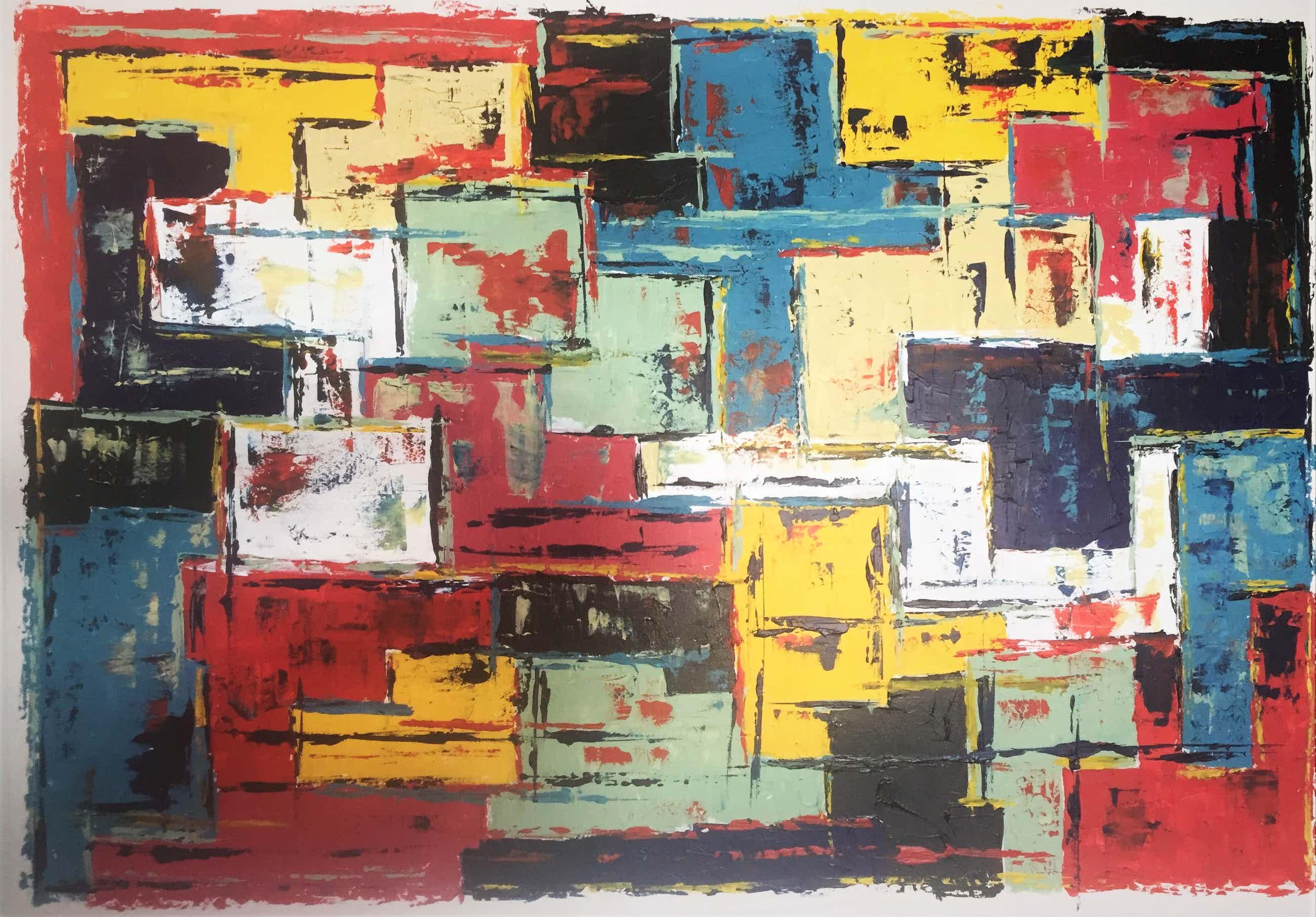 John Foppen - Full Colour Symphony ...... # K04 . XL. GROOT. kopen? Bied vanaf 179!