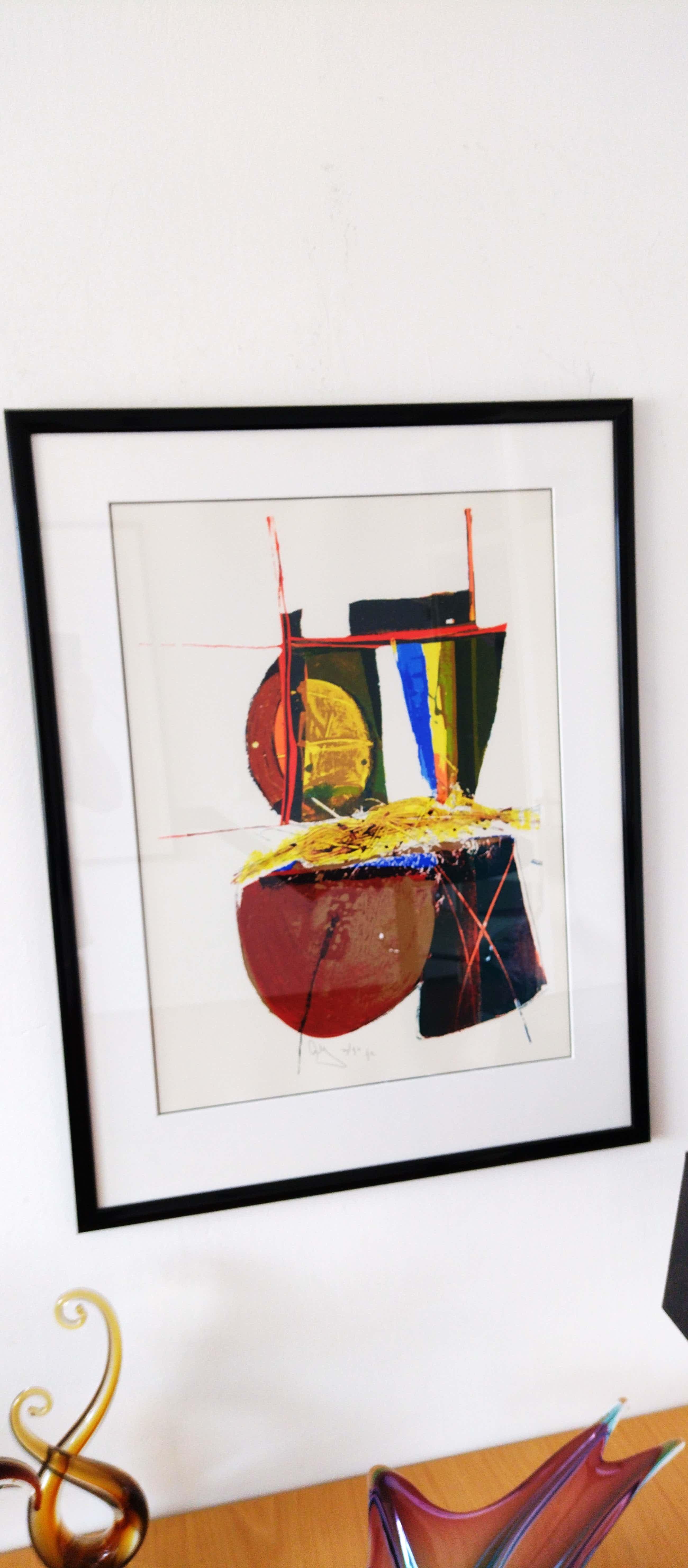Arty Grimm - Prachtig Abstract werk uit 1992 kopen? Bied vanaf 65!