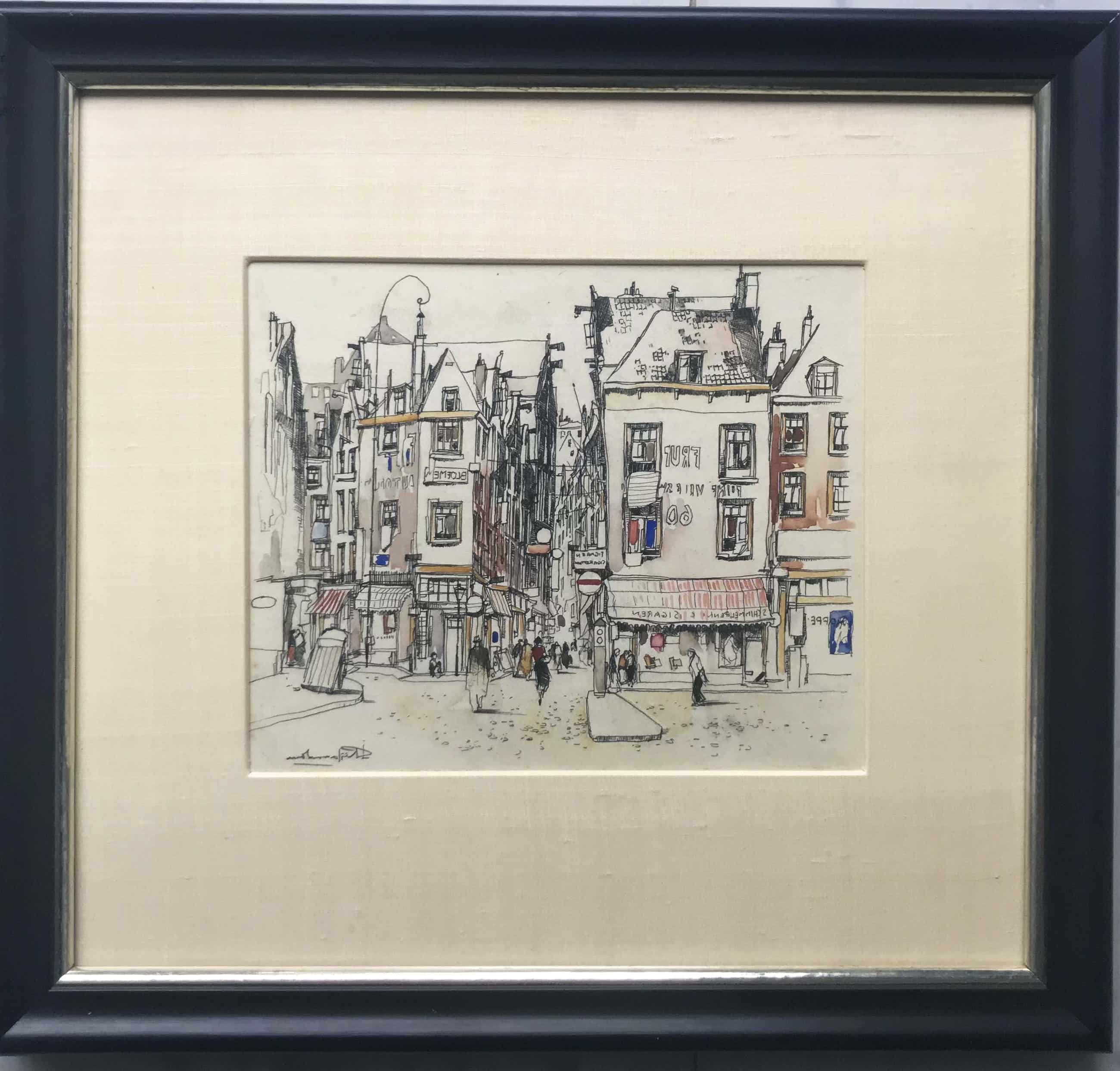 Jan Rijlaarsdam - Het Rokin - Amsterdam kopen? Bied vanaf 525!