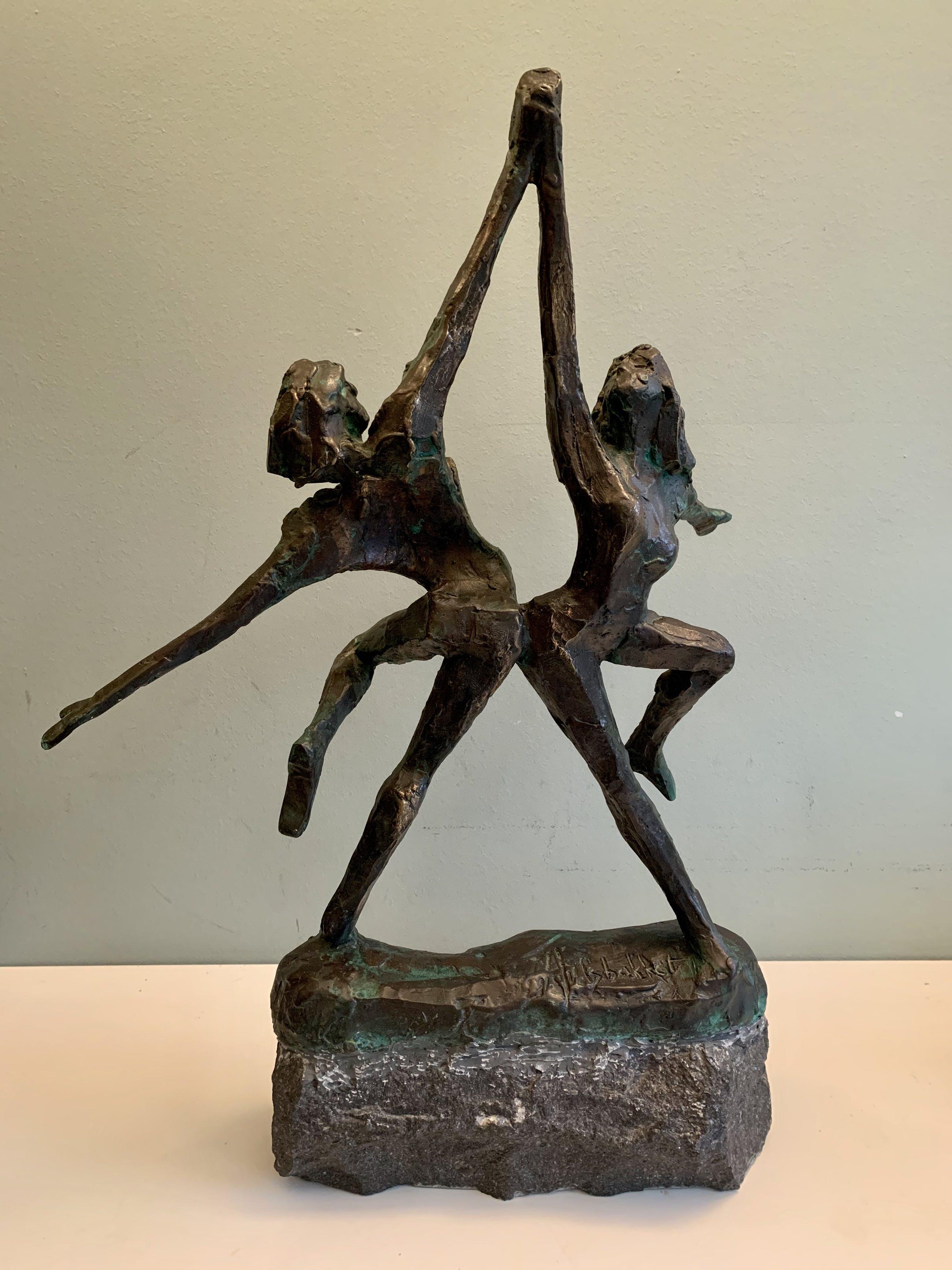 Jits Bakker - Dansend stel / dansende man en vrouw kopen? Bied vanaf 900!