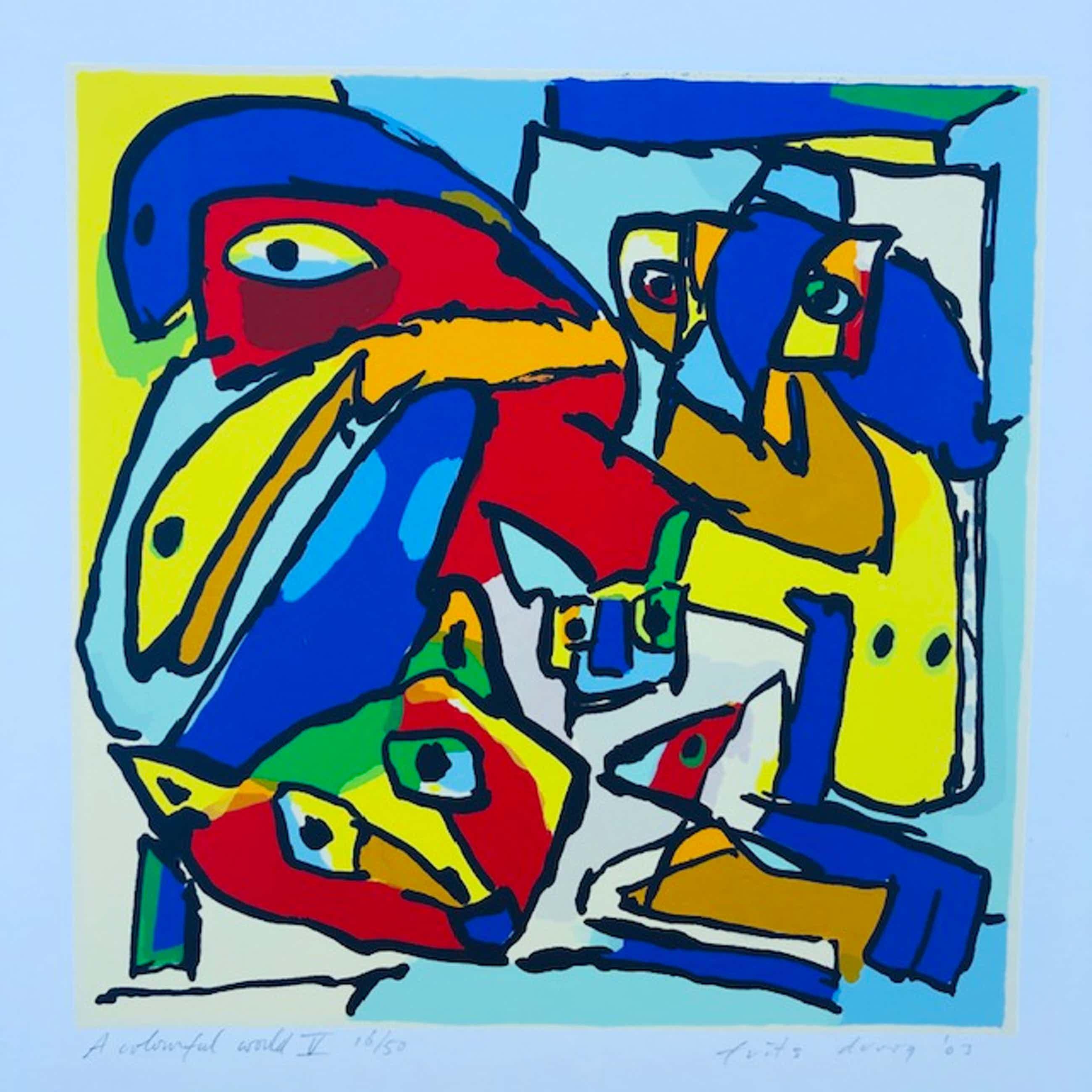 Frits Droog - A colorfull world V kopen? Bied vanaf 65!