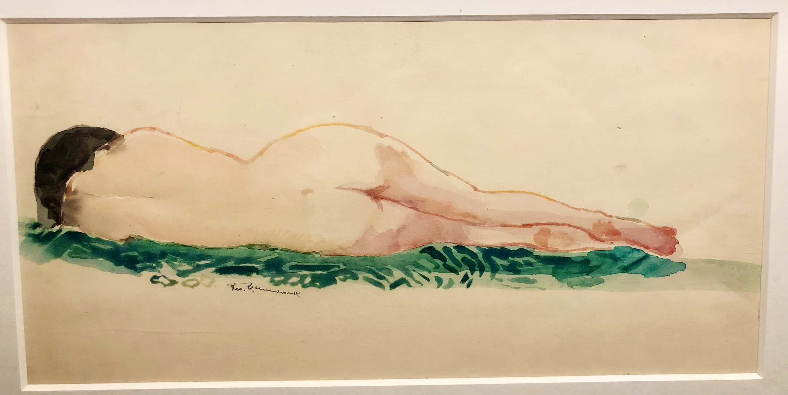Theo Beerendonk - Nude lying on her side kopen? Bied vanaf 75!