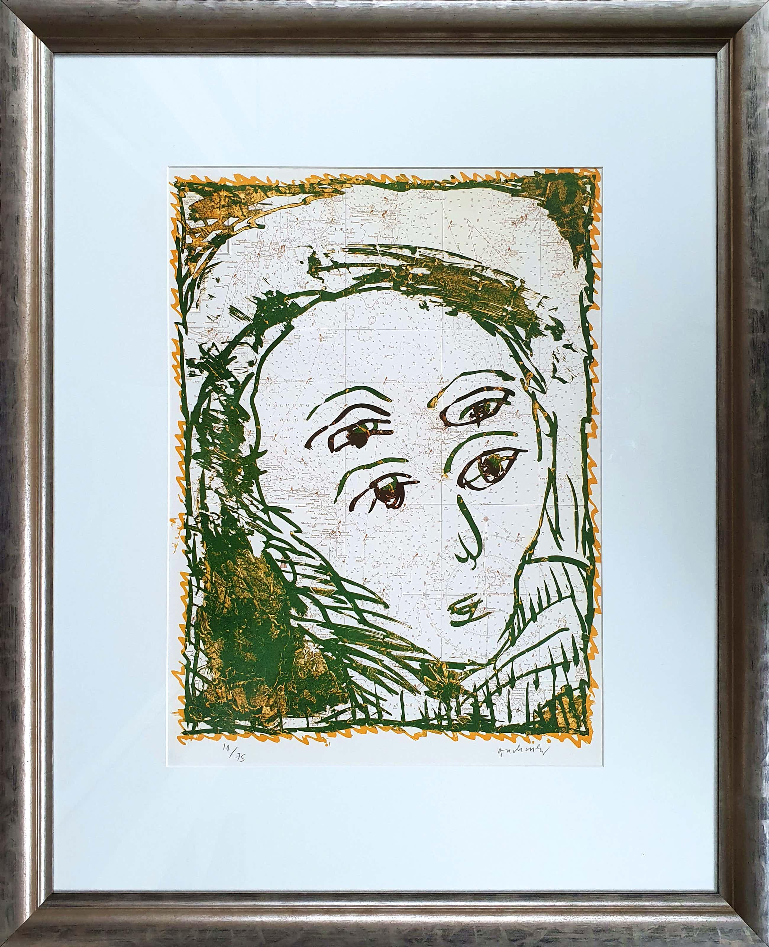 Pierre Alechinsky - kleurenlitho 1980 - Nieuw ingelijst! (Groot) kopen? Bied vanaf 855!