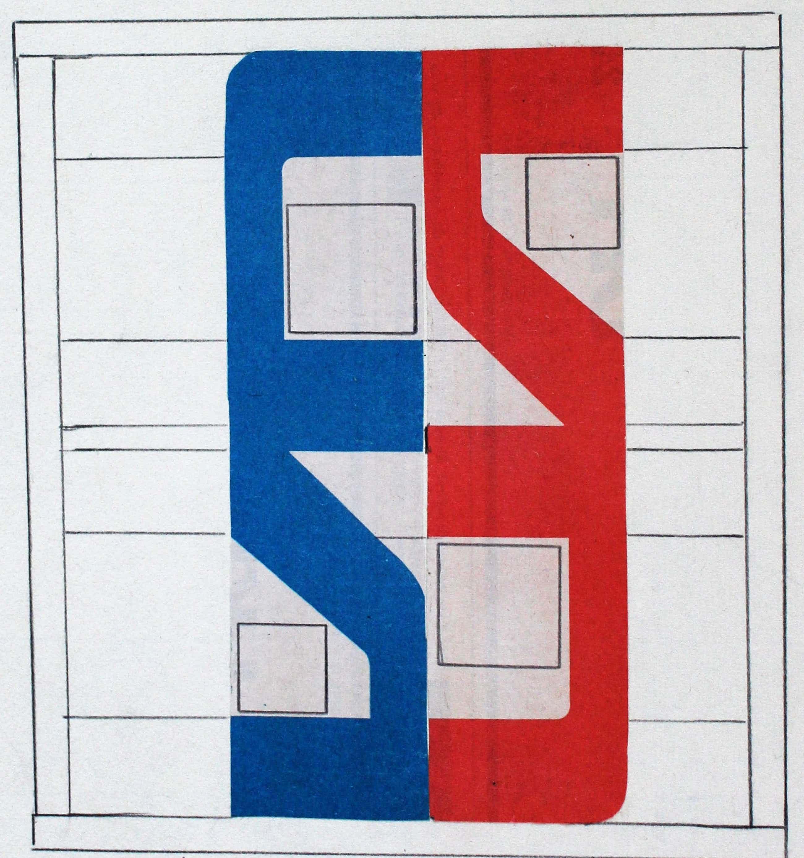 Siep van den Berg - Collage: 2 die elkaar zoeken - gesigneerd - 1984 kopen? Bied vanaf 95!