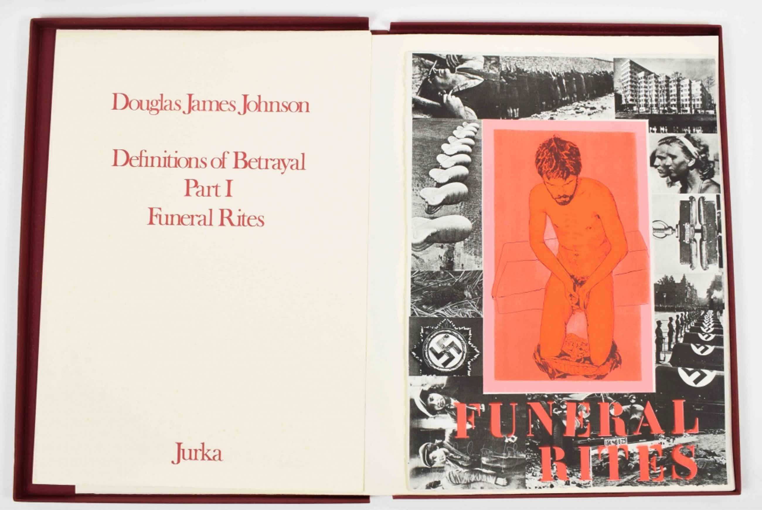 Douglas James Johnson - Definitions of Betrayal Part I / Funeral Ritesl ( inspired by Jean Genet ) kopen? Bied vanaf 99!