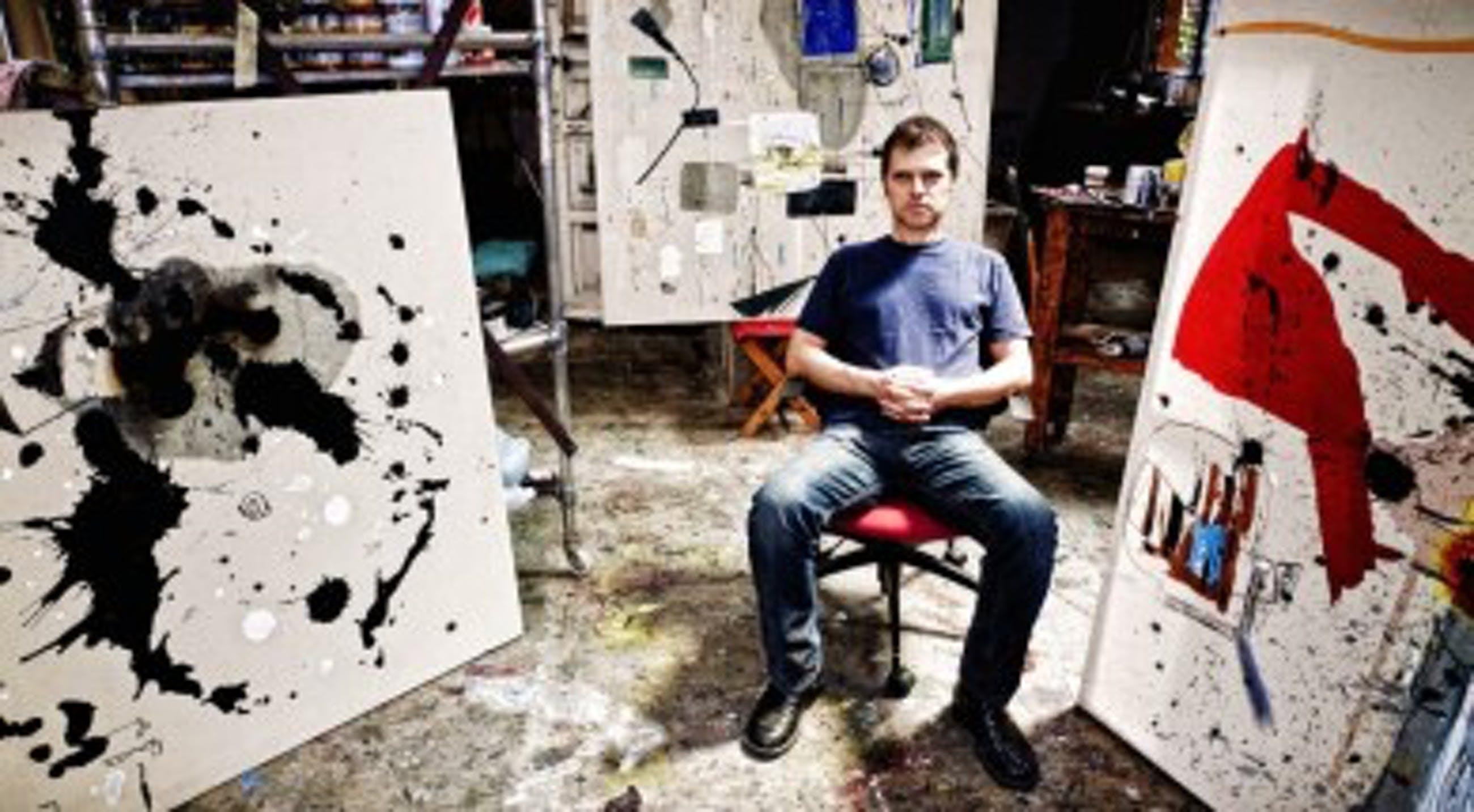 Marcelo Legrand - Compositie - Abstract Gezicht [3] kopen? Bied vanaf 55!