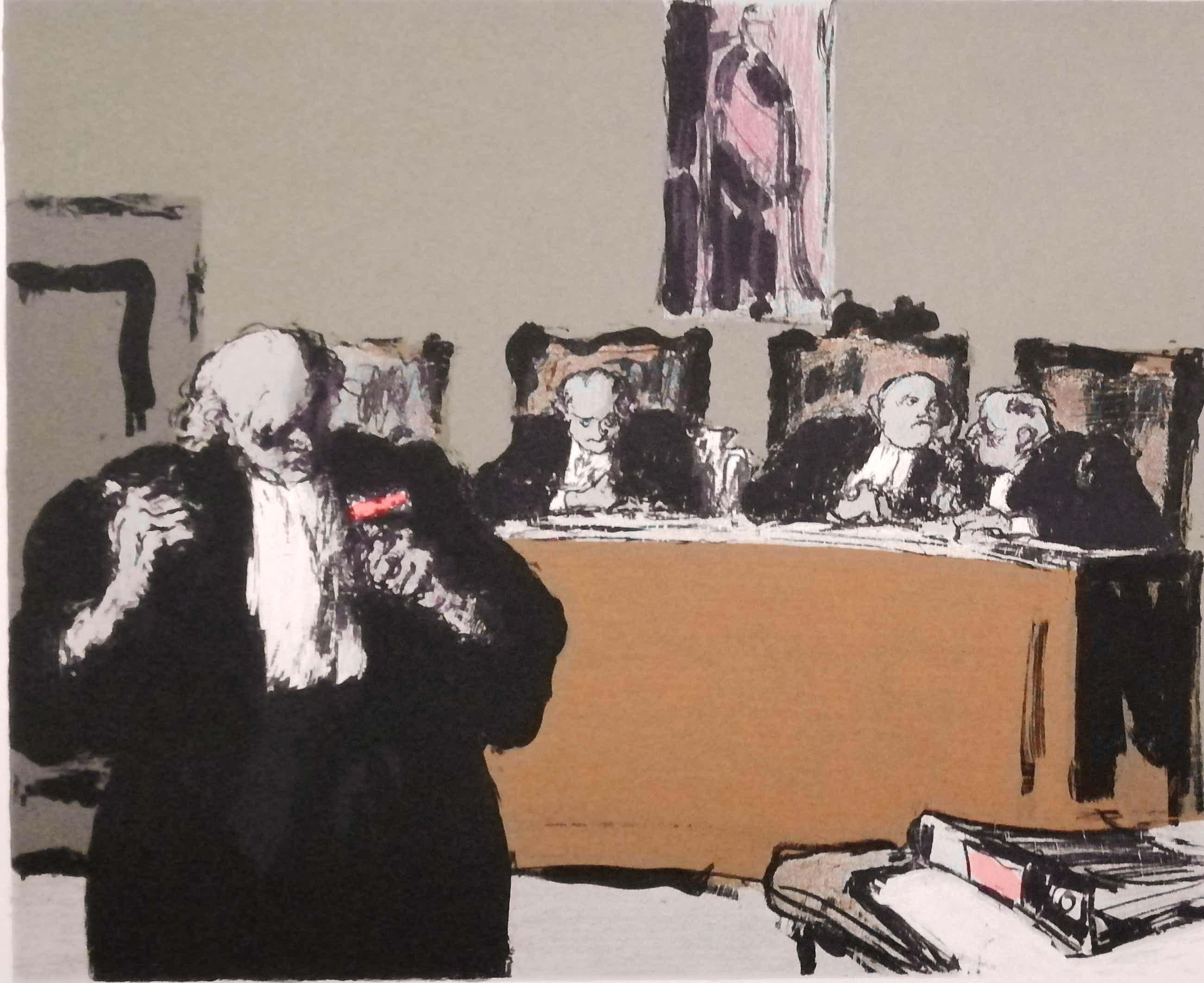 Kurt Lob - De Rechtbank kopen? Bied vanaf 60!