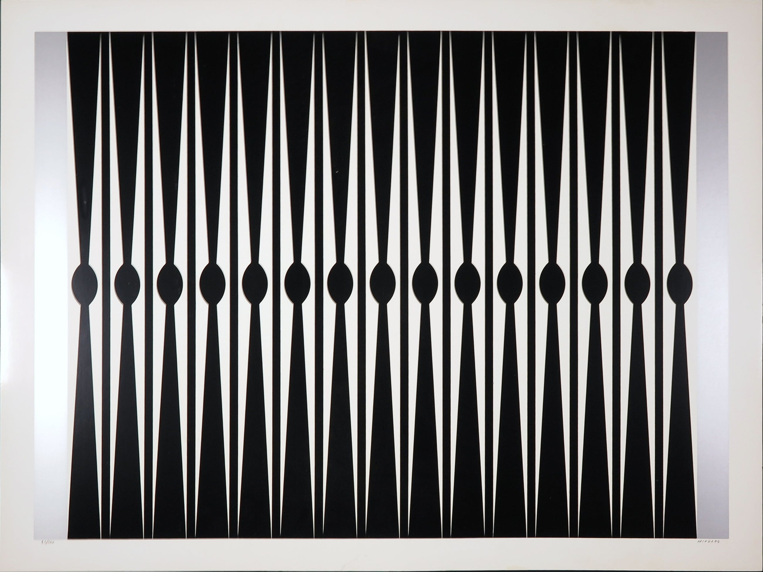 Dordevic Miodrag - Zeefdruk, Abstracte compositie kopen? Bied vanaf 10!