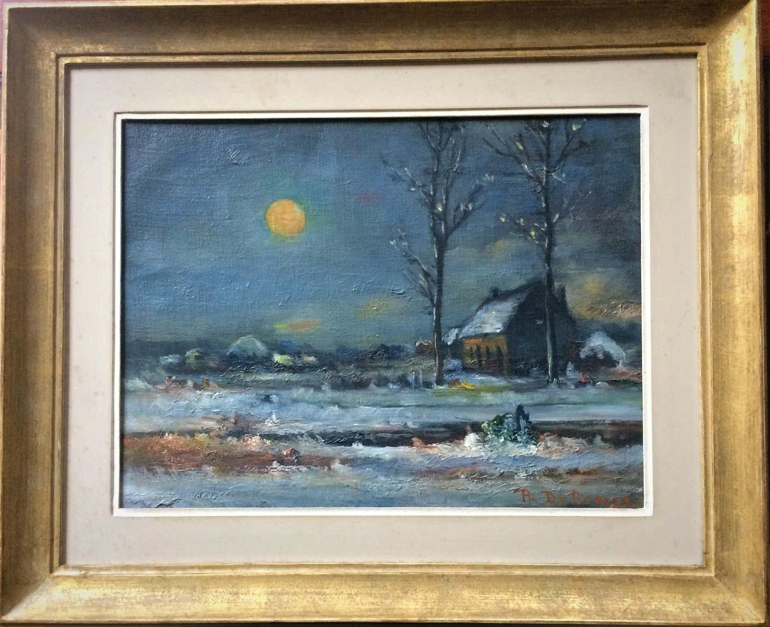 Prosper De Roover - 1899 - 1974-Winterlandschap kopen? Bied vanaf 55!