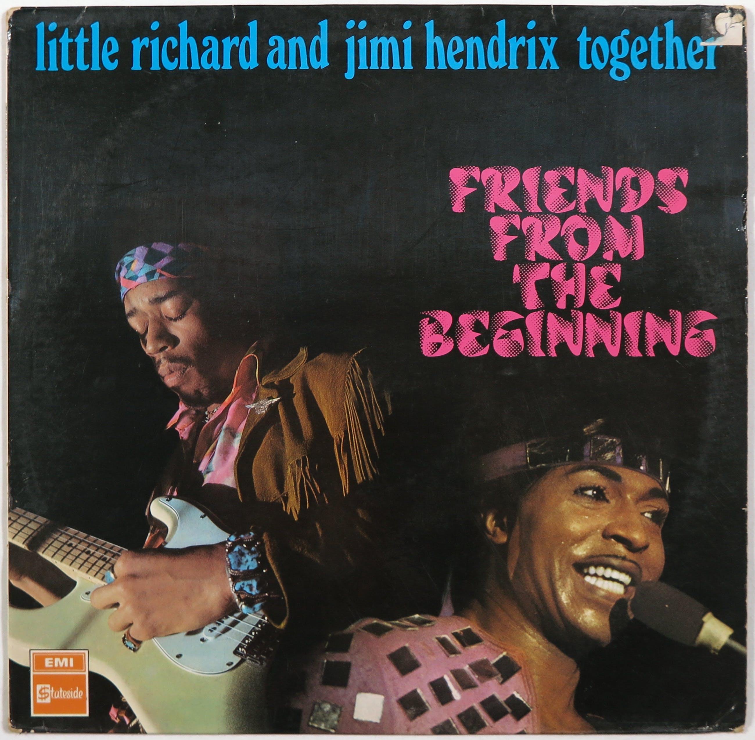 Jimi Hendrix - en Little Richard - LP– Friends From The Beginning kopen? Bied vanaf 6!