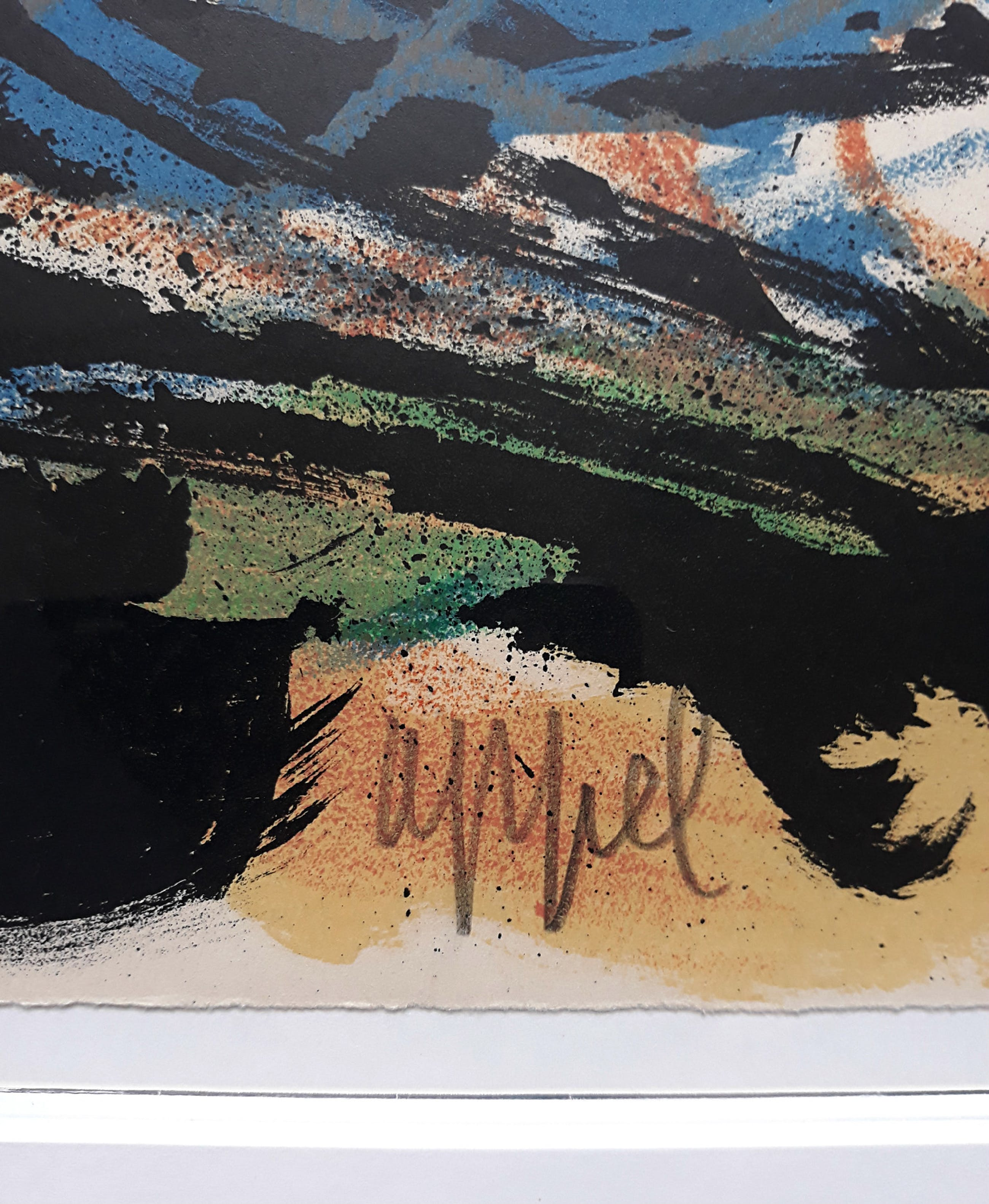 Karel Appel - Paysage humain, litho (mooi ingelijst) kopen? Bied vanaf 895!
