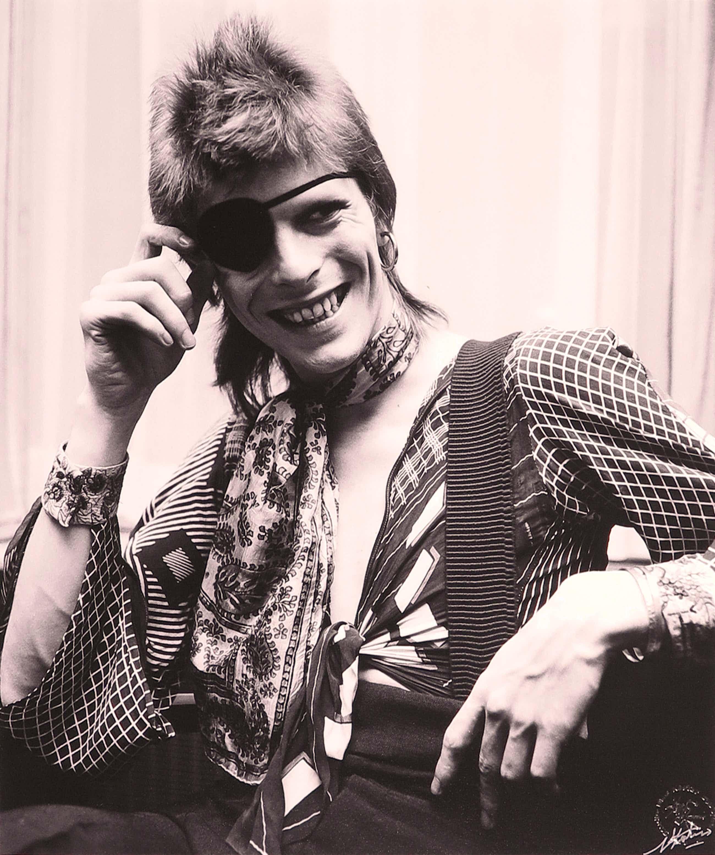 Nico Koster - Foto, Portret van David Bowie in het Amstel Hotel in 1973 kopen? Bied vanaf 240!