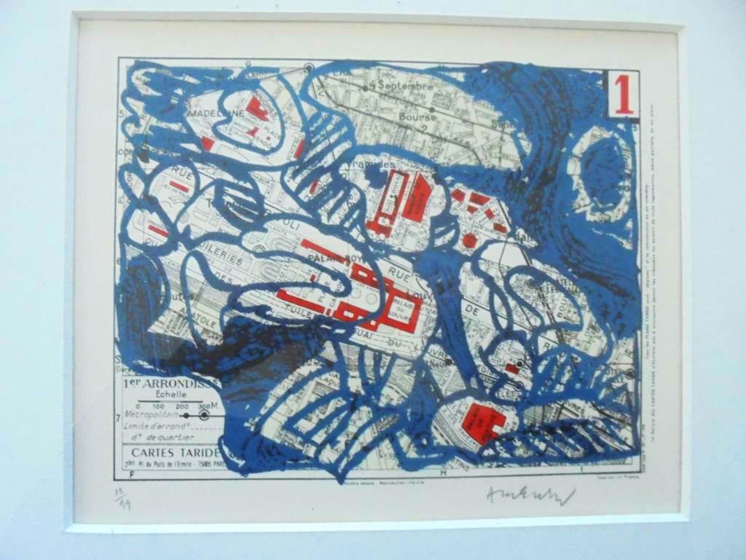 Pierre Alechinsky - Paris, Arrondissement 1 - 1983 - oplage 99 kopen? Bied vanaf 650!