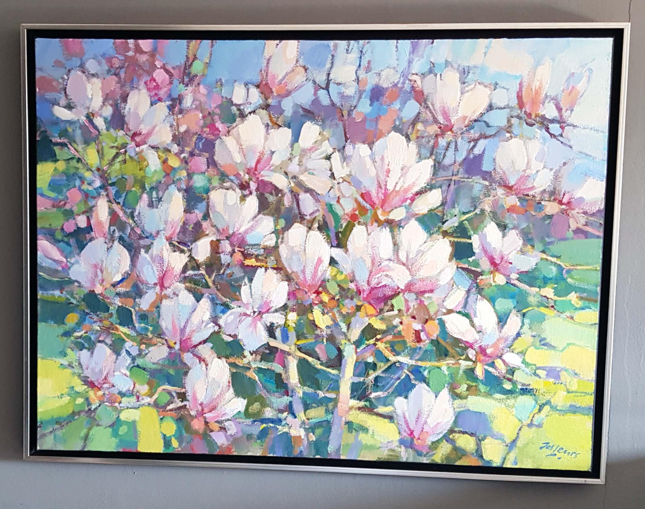 Jos Leurs - Magnolias. kopen? Bied vanaf 750!