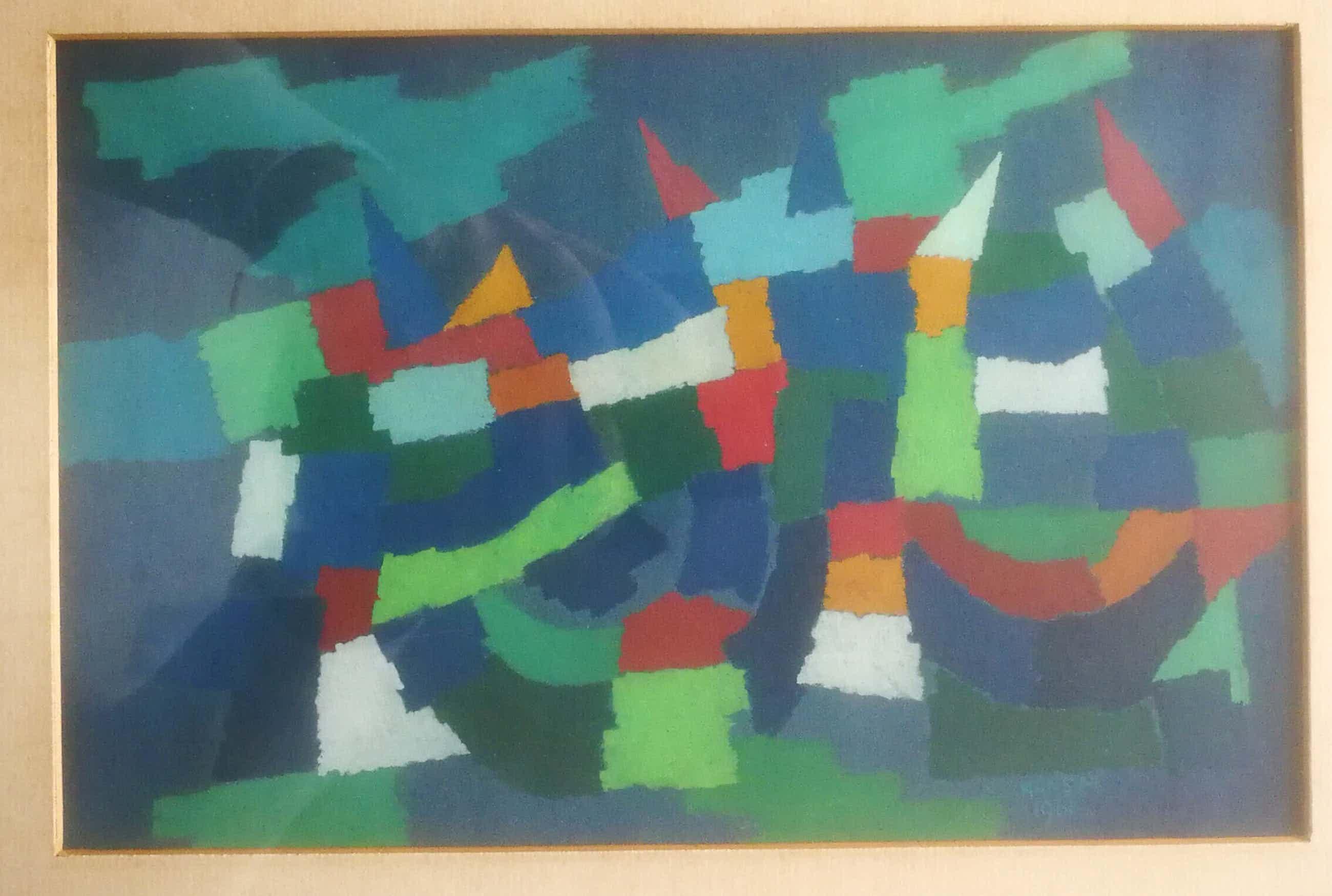 Hans Mulder - Abstract. Kleurrijk. kopen? Bied vanaf 89!